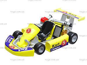 Игрушечная машина для картинга Go-Kart, 92670W, детские игрушки