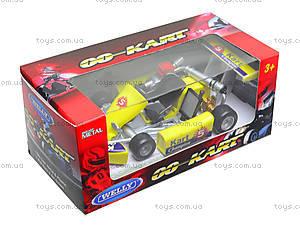 Игрушечная машина для картинга Go-Kart, 92670W, toys.com.ua