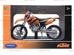 Игрушечный мотоцикл для детей Welly, 19660-24PWD(A), цена