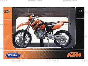 Игрушечный мотоцикл для детей Welly, 19660-24PWD(A), магазин игрушек