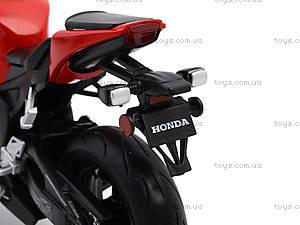 Мотоцикл HONDA 2009 CBR1000RR, 62804W, игрушки