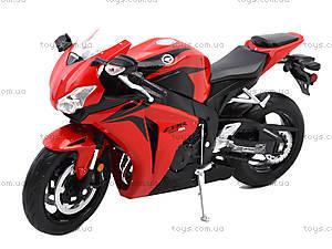 Мотоцикл HONDA 2009 CBR1000RR, 62804W, детские игрушки