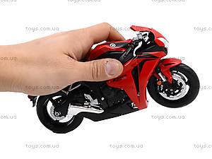 Мотоцикл HONDA 2009 CBR1000RR, 62804W, магазин игрушек