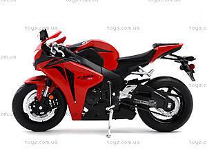 Мотоцикл HONDA 2009 CBR1000RR, 62804W, іграшки