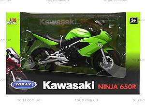 Мотоцикл KAWASAKI 2009  NINJA 650R, масштаб 1:10 , 62803W, цена