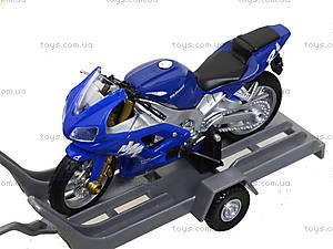 Игровой набор «Машина VOLVE XC90 и мотоцикл TRIUMPH 2002 DAYTONA 955», 39884F-2G(A), купить