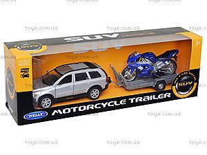 Игровой набор «Машина VOLVE XC90 и мотоцикл TRIUMPH 2002 DAYTONA 955», 39884F-2G(A), отзывы