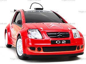 Машинка на радиоуправлении Citroen C2 Super, 83004KK-W, игрушки