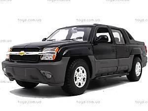 Машина Chevrolet Avalanche 2002, 22094W, игрушки