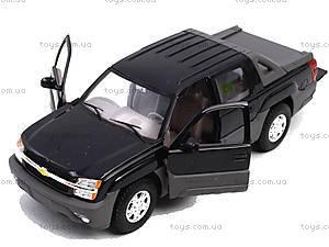 Машина Chevrolet Avalanche 2002, 22094W, магазин игрушек
