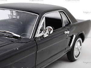 Модель Ford Mustang Coupe, масштаб 1:24, 22451W, магазин игрушек