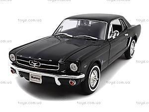 Модель Ford Mustang Coupe, масштаб 1:24, 22451W, іграшки