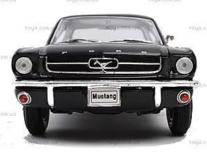 Модель Ford Mustang Coupe, масштаб 1:24, 22451W, детский