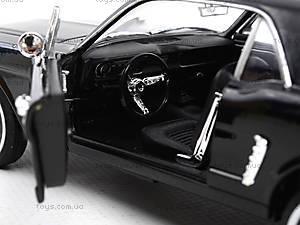 Модель Ford Mustang Coupe, масштаб 1:24, 22451W, Украина