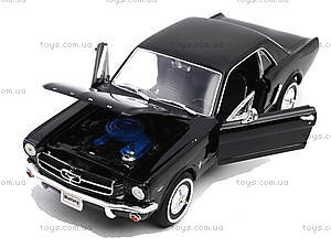 Модель Ford Mustang Coupe, масштаб 1:24, 22451W, доставка