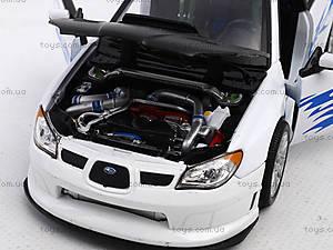 Машина Subaru Impreza , 22487W, игрушки