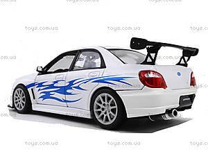 Машина Subaru Impreza , 22487W, детские игрушки