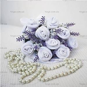 Букет из носочков White lavender, BT03, фото