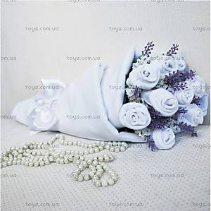 Букет из носочков White lavender, BT03