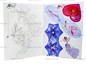 Альбом для наклеек «Winx. Красивые открытки», К488001Р, игрушки