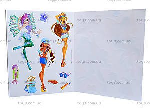 Альбом для наклеек «Winx. Мир Блум», Р475058Р, игрушки
