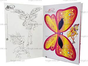 Альбом для наклеек «Winx. Таинственные маски», К488002Р, игрушки