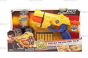 Бластер X-Shot EXCEL (3 банки, 6 патронов), 36116