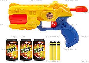Бластер X-Shot EXCEL (3 банки, 6 патронов), 36116, купить