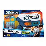 X-Shot бластер EXCEL Recoil (8 патронов), 36184Z, игрушки