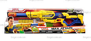 Детский бластер X- Shot Large Max Attack, 10 патронов, 3694