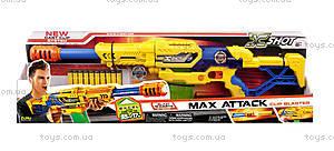 Детский бластер X- Shot Large Max Attack, 10 патронов, 3694
