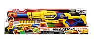 Детский бластер X- Shot Large Max Attack, 10 патронов, 3694, фото
