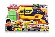 Игрушечный бластер X-Shot Small Hurricane, 10 патронов, 3693, фото