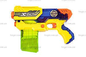 Игрушечный бластер X-Shot Small Hurricane, 10 патронов, 3693, купить