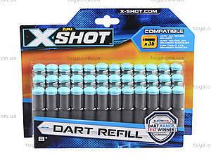 X-Shot Набор патронов, 36 патронов, 3618