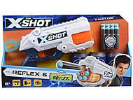 """X-Shot Скорострельный бластер """"EXCEL Reflex"""", 36197Z, детские игрушки"""