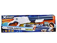 """Скорострельный бластер """"EXCEL Vigilante"""" из серии X-Shot, 3623, toys"""
