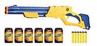 Скорострельный бластер EXCEL Vigilante, 6 банок и 10 патронов, 3623, купить