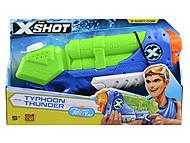"X-Shot Водный бластер ""Medium Typhoon Thunder"", 01228, игрушки"