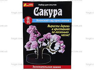 Набор для выращивания кристаллов «Сакура», 0350