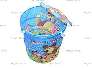 Яркая корзина для игрушек, 17-003