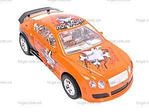 Яркий инерционный спорткар, 802-2A, фото