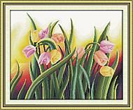 Яркие тюльпаны, картина для творчества, H278