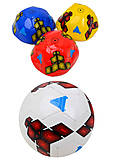 Глянцевый футбольный мяч, 4 цветов, BT-FB-0054, фото