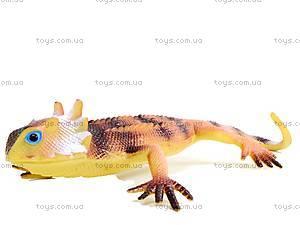 Ящерица резиновая игрушечная, H9903W, фото