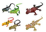 Игрушечная ящерица, цвета в ассортименте, Y17, купить