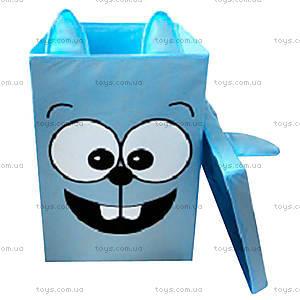 Ящик для игрушек с крышкой «Заяц»,