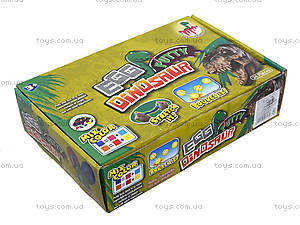 Яйцо с динозавром в коробке, CL-822, игрушки
