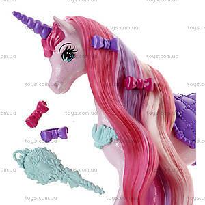 Единорог Barbie серии «Сказочно-длинные волосы», DHC38, купить