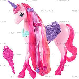 Единорог Barbie серии «Сказочно-длинные волосы», DHC38, отзывы